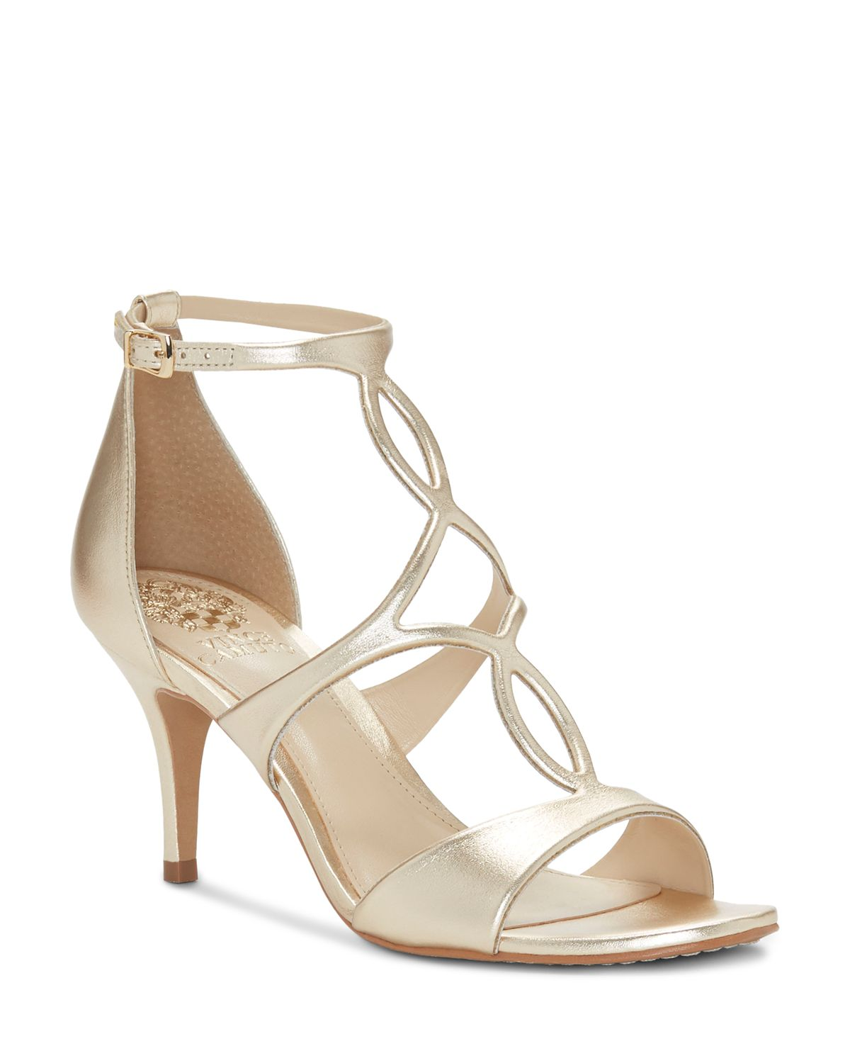 Vince Camuto Women's Payto Leather High-Heel Sandals