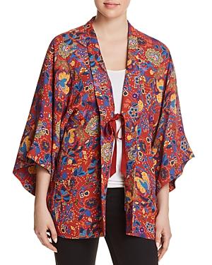 Elizabeth and James Drew Paisley Kimono