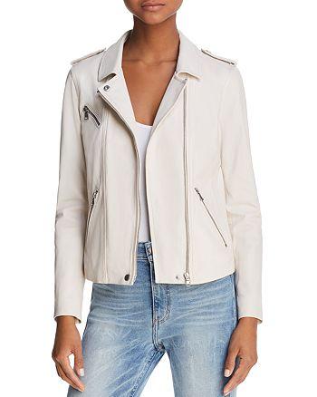 Rebecca Taylor - Washed Leather Moto Jacket