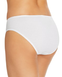Hanro - Cotton Seamless High-Cut Full Briefs