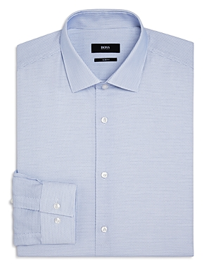 Boss Micro Dash Slim Fit Dress Shirt