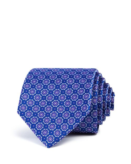 The Men's Store at Bloomingdale's - Floret Circles Neat Classic Tie - 100% Exclusive