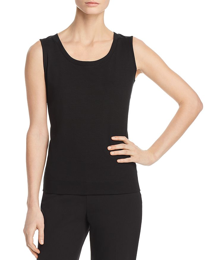 Lafayette 148 New York - Cotton Ribbed Tank