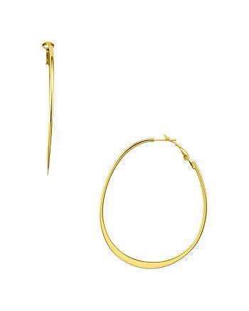Argento Vivo - Wavy Hoop Earrings