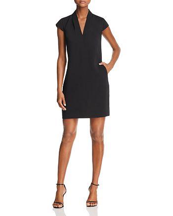 AQUA - Cap Sleeve Shift Dress - 100% Exclusive