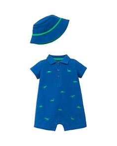 Little Me Boys' Embroidered Dino Romper & Hat - Baby - Bloomingdale's_0