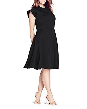 City Chic Jersey Cap Sleeve Dress