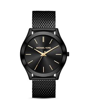 Michael Kors - Black Slim Runway Watch, 44mm x 49mm