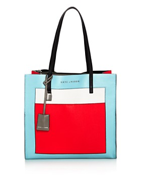 MARC JACOBS - The Grind Leather Tote