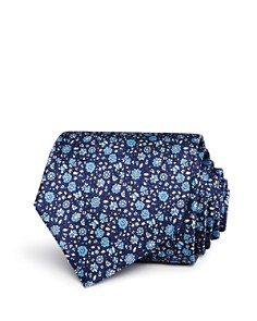 The Men's Store at Bloomingdale's Printed Floral Classic Tie - 100% Exclusive_0