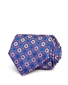 Canali Floral Medallion Classic Tie - Bloomingdale's_0