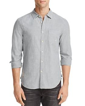 AG - Nelson Striped Regular Fit Button-Down Shirt