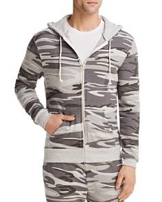 ALTERNATIVE - Rocky Camouflage Zip Hoodie