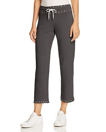Monrow - Studded Sweatpants