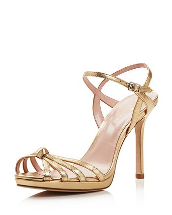 f0e1a6ab04ac kate spade new york - Women s Florence Leather High-Heel Ankle Strap Sandals