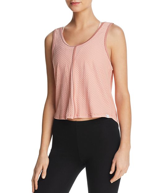 KORAL - Textured Cowl-Back Top