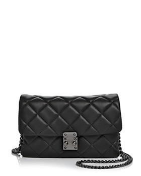 AQUA - Diamond Quilt Mini Bag - 100% Exclusive