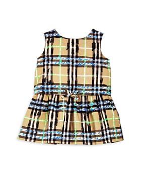 Burberry - Girls' Mini Mabel Scribble Check Dress - Baby