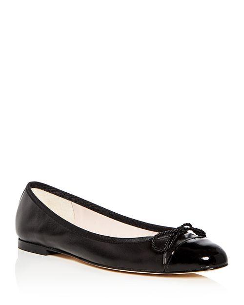 Paul Mayer - Women's Love Leather Cap Toe Ballet Flats
