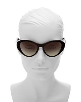 Prada - Women's Cat Eye Sunglasses, 55mm