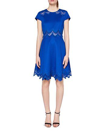 Ted Baker - Rehanna Embroidered Skater Dress