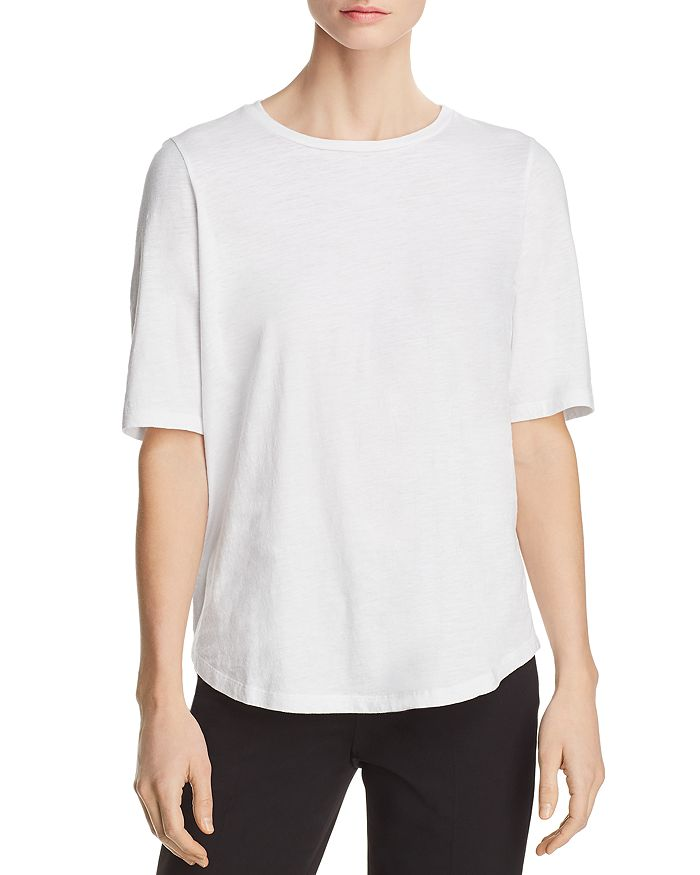 Eileen Fisher - Organic Cotton Tee