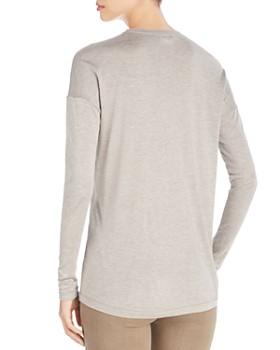 Lafayette 148 New York - Long Sleeve Tissue Knit Top
