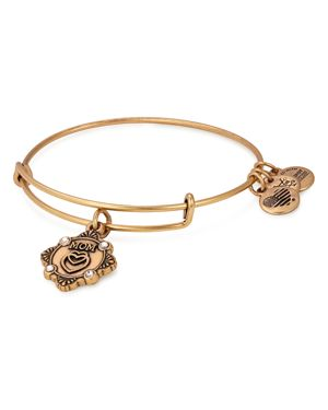 ALEX AND ANI Because I Love You Granddaughter Charm Bangle in Gold