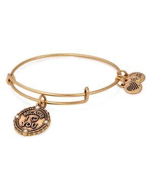 ALEX AND ANI Because I Love You Bracelet in Gold