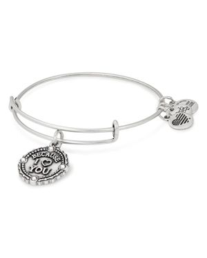 ALEX AND ANI Because I Love You Bracelet in Silver