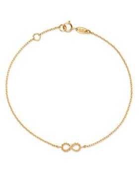 Moon & Meadow - Infinity Bracelet in 14K Yellow Gold - 100% Exclusive