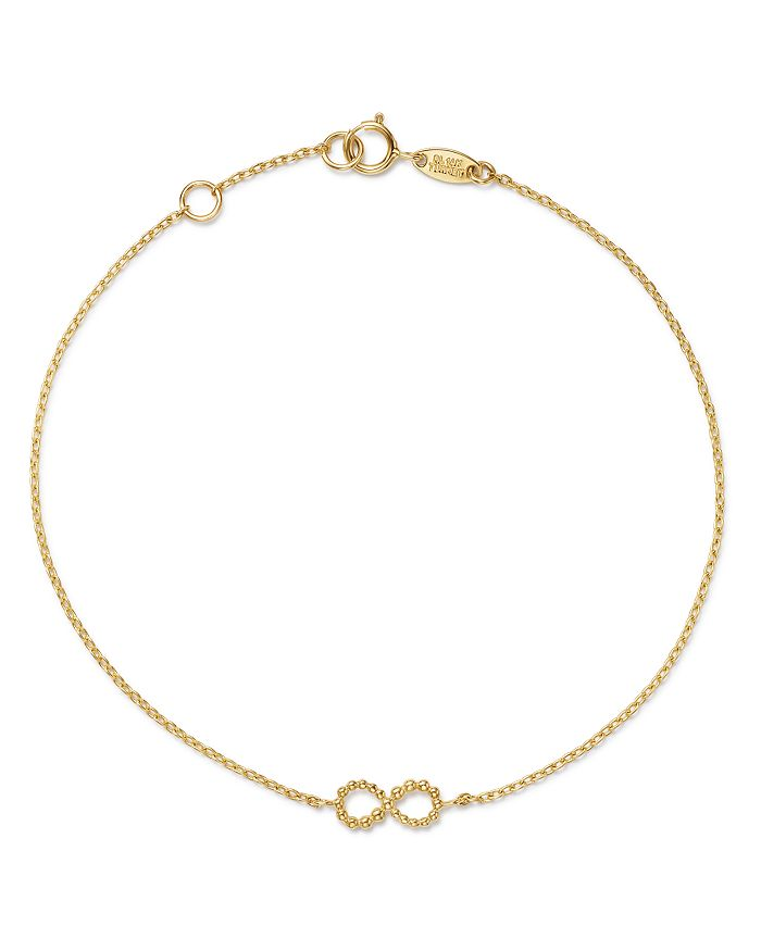 Moon & Meadow - Infinity Bracelet in 14K Yellow Gold - 100% Exclusive