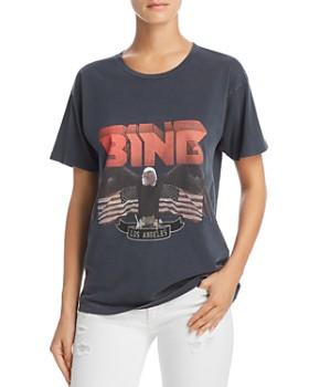 Anine Bing - Vintage-Look Bing Tee