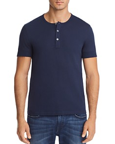 Michael Kors Short Sleeve Henley - 100% Exclusive - Bloomingdale's_0