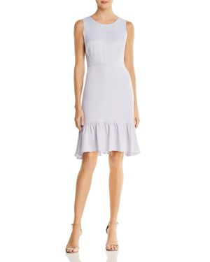 nanette Nanette Lepore Satin Flounce Dress 2867682