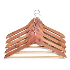 Woodlore Basic Cedar Back Hangers, Pack of 5 - Bloomingdale's Registry_0