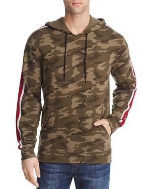 PACIFIC & PARK CAMOUFLAGE STRIPED PULLOVER HOODIE - 100% EXCLUSIVE