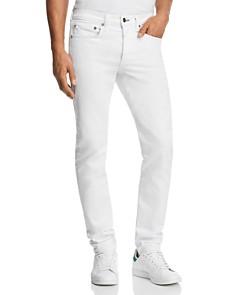 rag & bone Fit 1 Slim Fit Jeans in White - Bloomingdale's_0