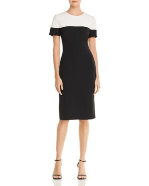 Adrianna Papell Color-Block Dress