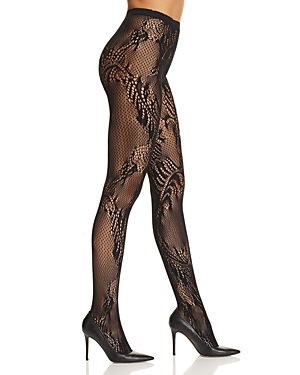 Natori Feather Lace Tights