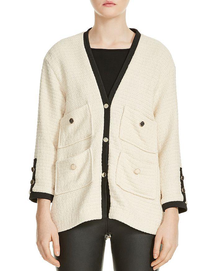 be3e1c88 Maje Vega Tweed Jacket | Bloomingdale's