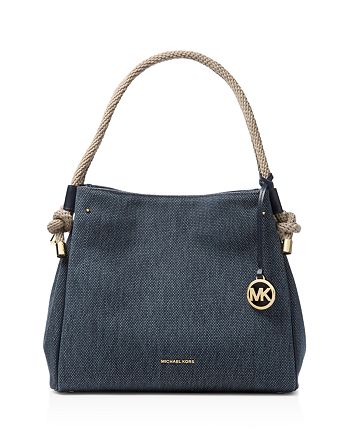 MICHAEL Michael Kors - Isla Canvas Bucket Bag