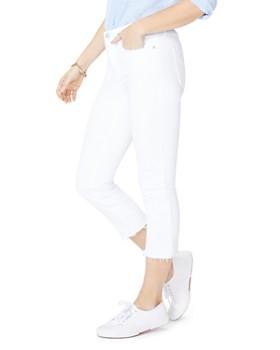 NYDJ - Released-Hem Capri Jeans in Optic White