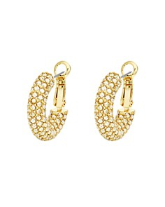 Atelier Swarovski - Bolster Small Hoop Earrings