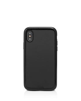 Sonix - Black Faux Patent iPhone X Case
