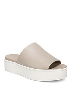 Vince - Women's Walford Platform Slide Sandals