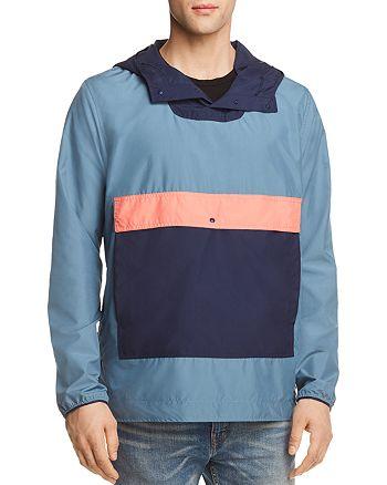 Herschel Supply Co. - Color-Blocked Hooded Anorak Jacket