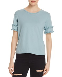 Michelle by Comune Rochelle Ruffle-Sleeve Tee - Bloomingdale's_0
