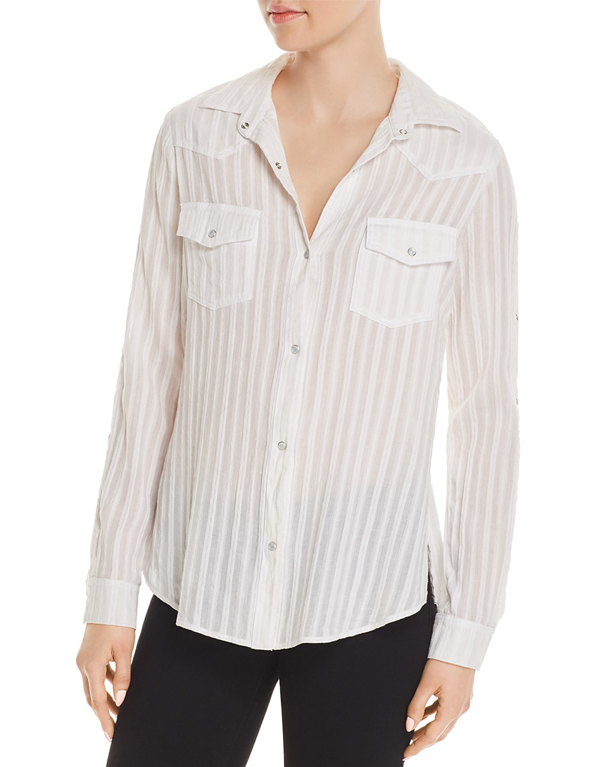 Particular Discount Stampede Shirt in White. - size S (also in XS) Bailey 44 Clearance Sast Cheap Sale For Nice kDlzBbGb