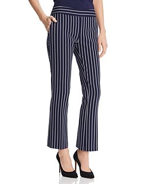 Boss Tebella Striped Bootcut Pants